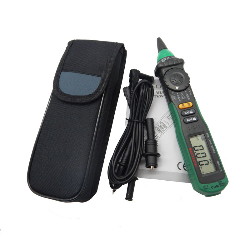 MASTECH MS8211DS Digital Multimeter Pen-Type Meter Auto Range DMM Multitester Voltage Current Tester Logic Level Tester mastech ms8211d pen type digital multimeter manual auto range