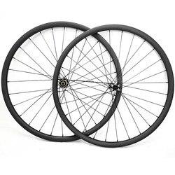 29er węgla mtb koła tarczowe bezdętkowe 27.4x23mm asymetria dysk węglowy koła D411SB/D412SB 100X15 142X12 mtb koła rowerowe w Koła roweru od Sport i rozrywka na
