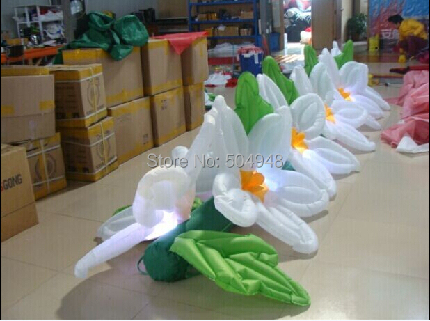 2015 Hot Sale Inflatable Flowers for Wedding Decoration