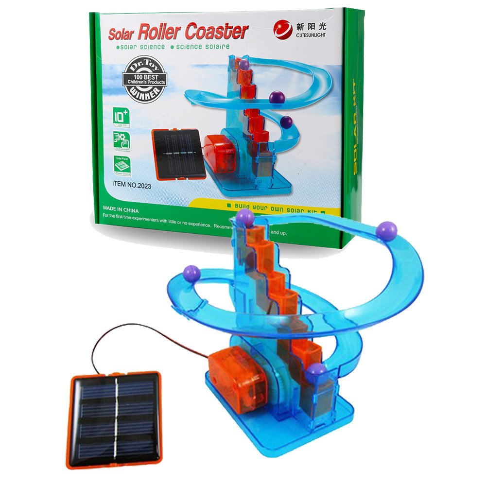 Kids Toys China Energia Solar Toy Car Robot Kit Solar Powered Rollercoaster DIY Building Kit Science Explorer Toy Education Toy