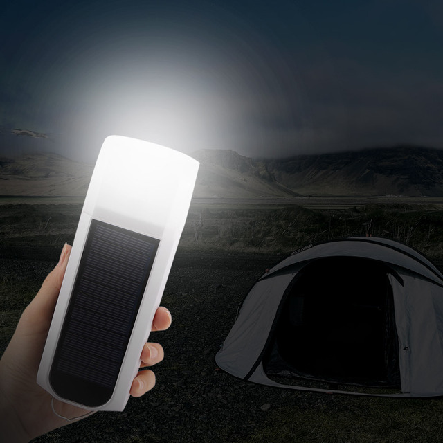 Solar Mini Camping Rechargeable Lamp