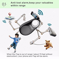 Anti-lost Mini Tracer Wireless Bluetooth GPS Tracker for Pet Baby Cellphone Wallet Key Bag Tracking Portable Selfie Recording