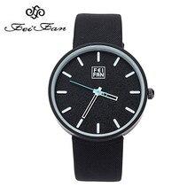 2016 Feifan marque montre 6 couleurs Femmes Grand multicolore cadran avec en cuir bande verre cas simple style poignet montres filles horloge