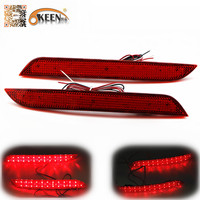 Hot Sale 6W Rear Bumper Reflector Light Car Parking Warning Light Led Tail Light LED Red