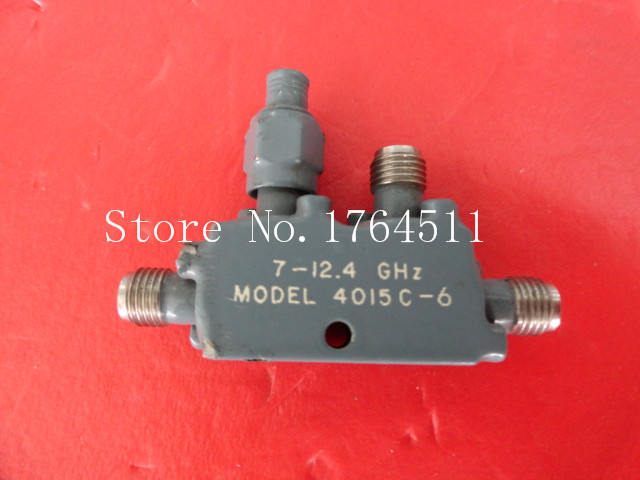 [BELLA] Narda 4015C-6 7-12.4GHz 6dB SMA RF Microwave Directional Coupler