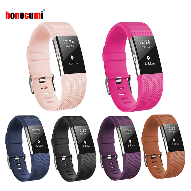 Honecumi Pour Fit peu Bandes Charge 2 Bandes Bracelets de Rechange pour Fitbit Charge 2 Bracelet Bracelet Accessoires Pour Femmes Hommes