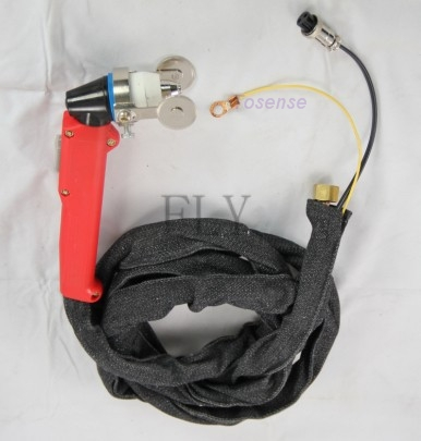 new P80PLASMA CUTTING CUTTER TORCH with consumables 25 pcs and  welding gloves*1 for CUT80,ICUT85