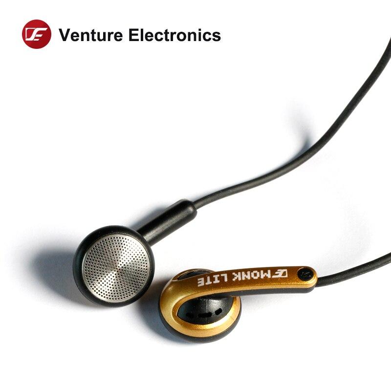 Venture Electronics VE Monk Lite Earbud Hifi  Earphone For Mobile Phone