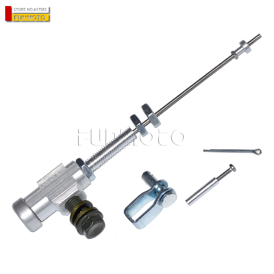 Hydraulic clutch Master Slave Cylinder Rod Pump for pit dirt bike motorcycle Motocross ATV QUAD High Performance