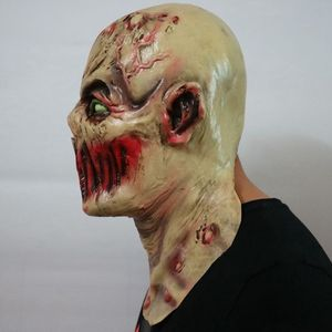 Image 2 - Scary Volwassen Halloween Monster Zombie Masker Latex Kostuum Party Horror Gezichtsmasker Volledige Hoofd Vampire Cosplay Maskerade Props