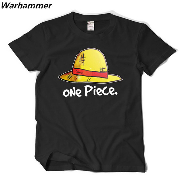ONE PIECE Luffy Cotton O-neck Men's T-Shirt