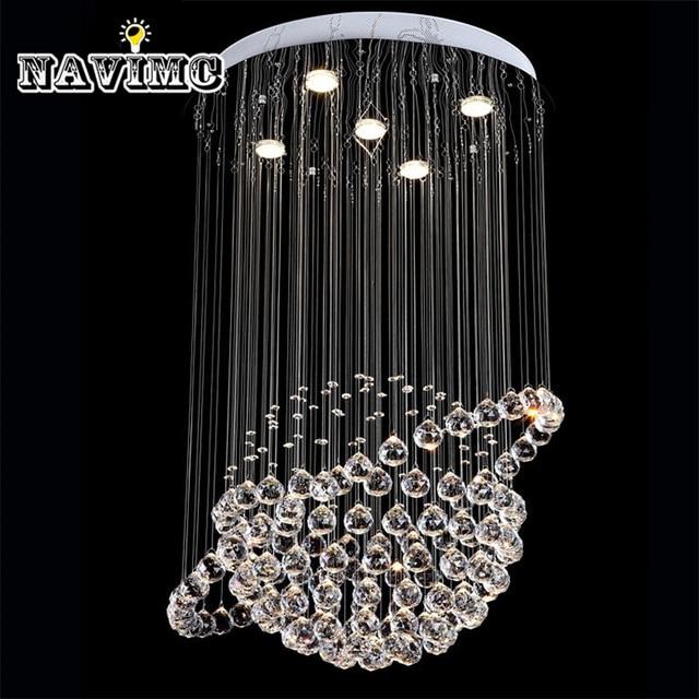 Modern LED Crystal Ceiling Lights Cristal Lustres Fitting Flush Mount Lighting Fixtures Globe Design lamp For.jpg 640x640 10 Merveilleux Lustre Cristal Kgit4