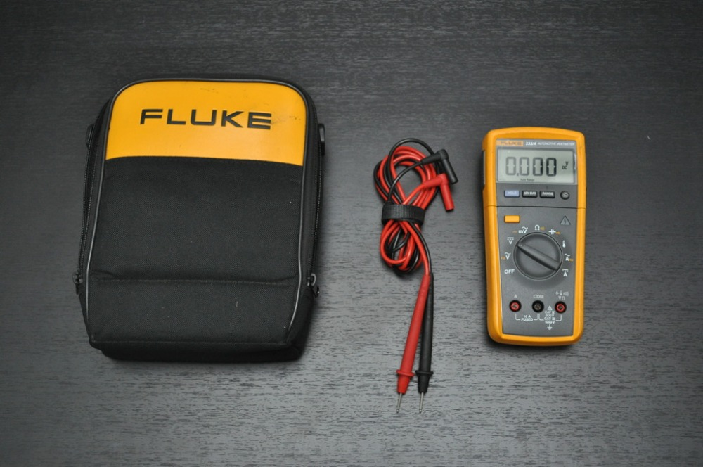 US $376 52 5% OFF|Fast arrival Fluke 233 / AKIT MultiMeter Tru RMS with  Removable Head and Accessories-in Multimeters from Tools on Aliexpress com  |