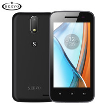 Original SERVO H1 4.5 inch mobile phone Android 6.0 Spreadtrum7731C Quad Core Dual Sim smartphone 5.0MP GSM WCDMA cell phones