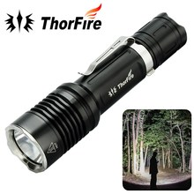 ThorFire VG10S XPL2 Ultra Bright Tactical LED Flashlight 1100LM 5 Modes Camping Hiking Hunting torch 18650 battery