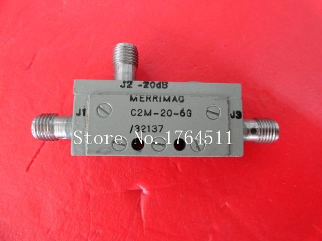 [BELLA] MERRIMAC C2M-20-6G 4-8GHz 20dB Coaxial Directional Coupler
