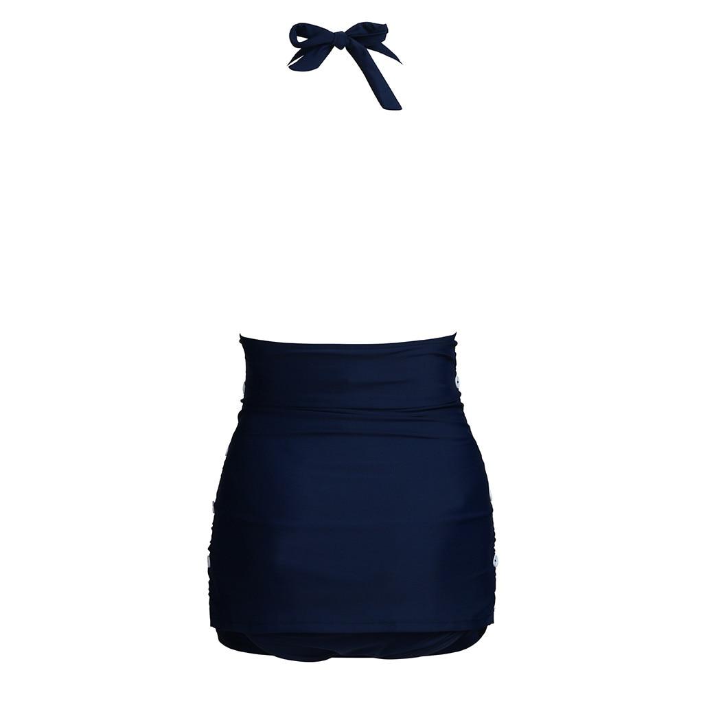 Women Maternity Pregnant Tankinis Solid Sling Bikinis Swimsuit Beachwear Suit swiming suit women MM621