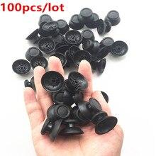 100 sztuk PS4 pokrywa analogowa 3D Shell Thumb Stick Joystick Thumbstick grzyb Cap dla Sony PlayStation 4 PS4 kontroler akcesoria