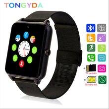 Smart Watch Phone Z60 Metal Strap Camera SIM Card Call Smartwatch For Xiaomi Huawei  Bluetooth Wrist Smartwatch PK A1 Y1 DZ09 Q8 цены