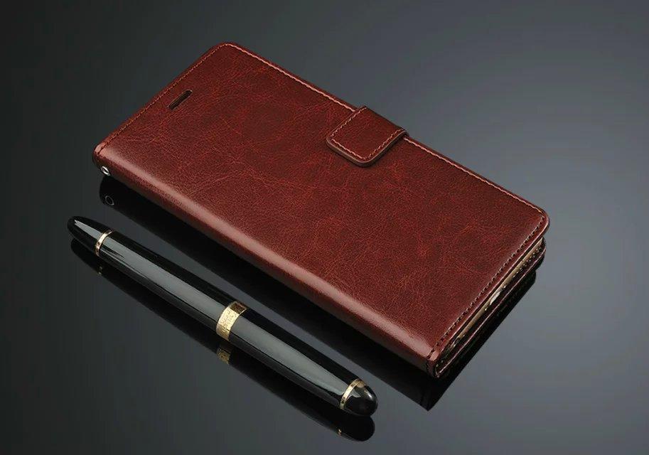 Lyxig PU-läder Flip Wallet-telefonväska för Apple IPhone 6 6S Plus - Reservdelar och tillbehör för mobiltelefoner - Foto 3