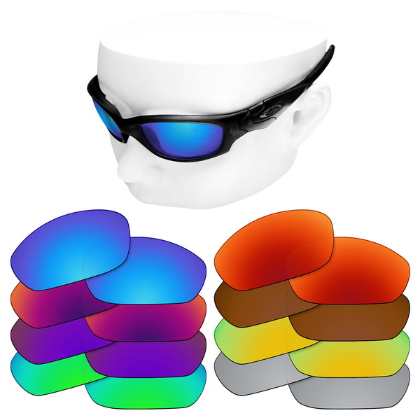 OOWLIT Polarized Replacement Lenses For-Oakley Straight Jacket 2007 Sunglasses