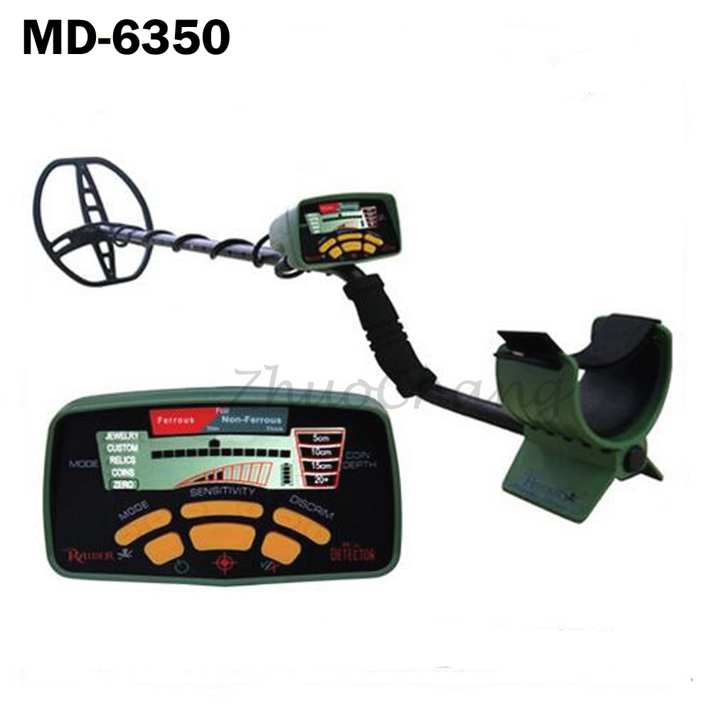 MD-6350 Underground Metal Detector Gold Digger Treasure Hunter MD6350 Professional Detecting Equipment