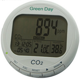 Indoor air quality monitor CO2 detector CO2 meter gas detector Thermometer hygrometer humity meter CO2 monitor gas analyzer 0 2000ppm range wall mount indoor air quality temperature rh carbon dioxide co2 monitor digital meter sensor controller
