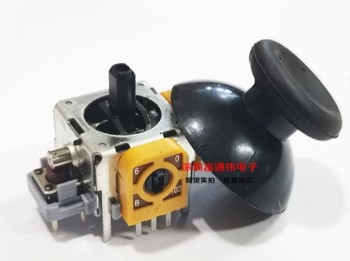 TAIWANG Replace Japan ALPS 10K B10K 3D PS game rocker Joystick potentiometer XBOX36 handle with switch B103 + hat 16*16