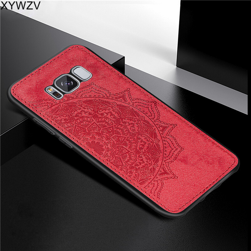 Image 3 - For Samsung Galaxy S8 Case Luxury Soft Silicone Luxury Cloth Texture Phone Case For Samsung Galaxy S8 Back Cover For Samsung S8-in Fitted Cases from Cellphones & Telecommunications