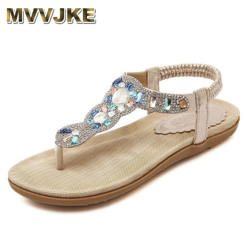 bd2554e37 Detail Feedback Questions about MVVJKE 2018 summer new woman fashion  sandals rhinestone flip flops women casual beach shoes soft bottom  comfortable flat ...