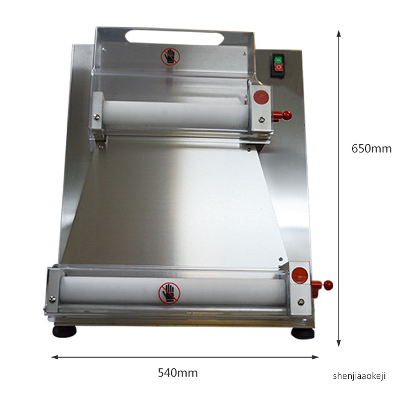 10 40cm Commercial dough pressing machine Automatic Electric bakery pizza dough roller dough press machine Electric pasta tool|Food Processors| |  - title=
