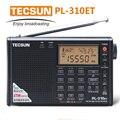 100% Nuevo de Alta Calidad Tecsun PL310ET Radio de Banda Completa Demodulador Digital FM/AM Radio Estéreo TECSUN PL-310 Digital receptor