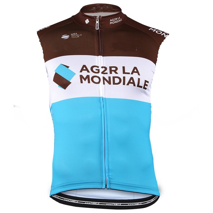 ebb7cb398 2018 AG2R PRO TEAM SUMMER SLEEVELESS CYCLING VEST JERSEY CYCLING WEAR ROPA  CICLISMO+ BIB SHORTS 3D GEL PAD SET -in Cycling Sets from Sports    Entertainment ...