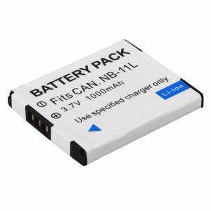 NB-11L 1 pc 1000 mAh NB 11L NB11L NB-11LH Battery For Canon A2600 A3500 A4000IS IXUS