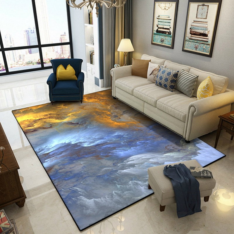 <font><b>3D</b></font> Cloud Layer Large Area Rugs For Living Room Bedroom Bedside Floor Mat Home Decor Kids Room Carpets Coffee Table Sofa <font><b>Tapetes</b></font> image