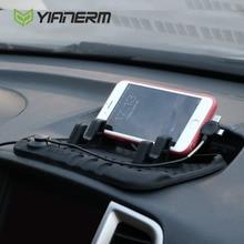 Yianerm anti-slip силиконовый коврик телефон владельца 3 в 1 pulg для iphone android типа с магнитной зарядки канатной стенд