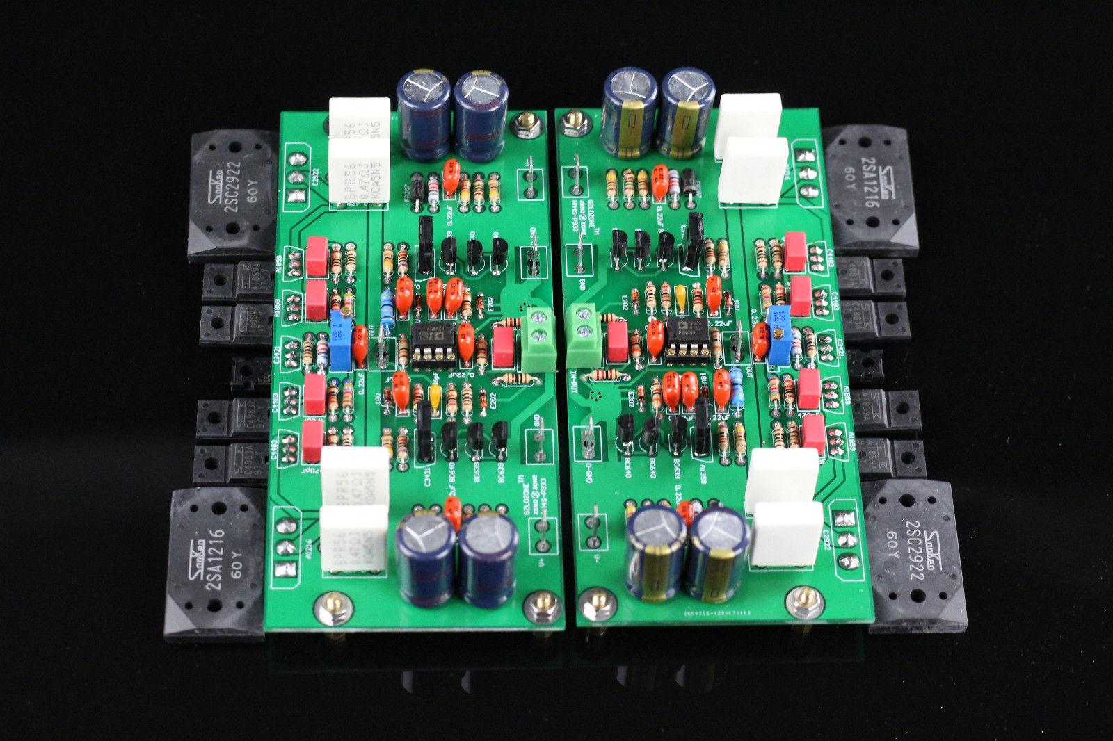 ZEROZONE One Pair Assembeld HM4S HIFI Power Amplifier Board Base On Burmester 933 Amplifier