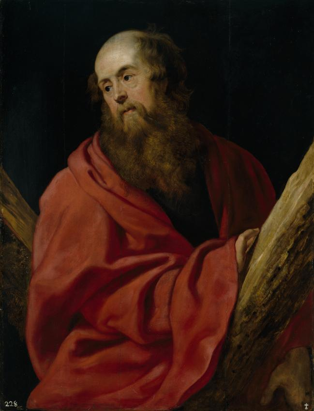 wholesale painting # TOP classical art work Rubens, Peter Paul Saint Andrew, Ca. replica print oil painting ON canvas