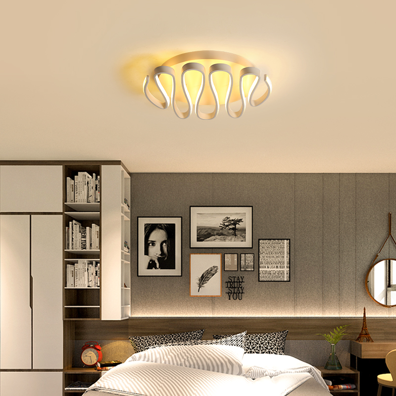 led ceiling lights Modern leading living room bedroom ceiling lamp home lighting ceiling lamp remote control dimming