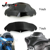 7 9 Wave Windshield Windscreen For Harley Electra Street Glide Touring FLHT FLHTC CHR 2014 UP