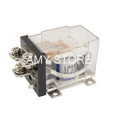JQX-60F-1Z SPDT 5 Pin High Power Relay Electromagnetic 12VDC/24VDC/110VAC/220VAC Coil 60A 240V AC 30V DC
