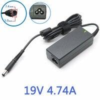19 V 4.74A 90 w 7.4x5.0mm Laptop Charger AC Adapter Power Supply per HP Pavilion DV3 DV4 DV5 DV6 DV7 Compaq CQ40 CQ45 CQ50 CQ60