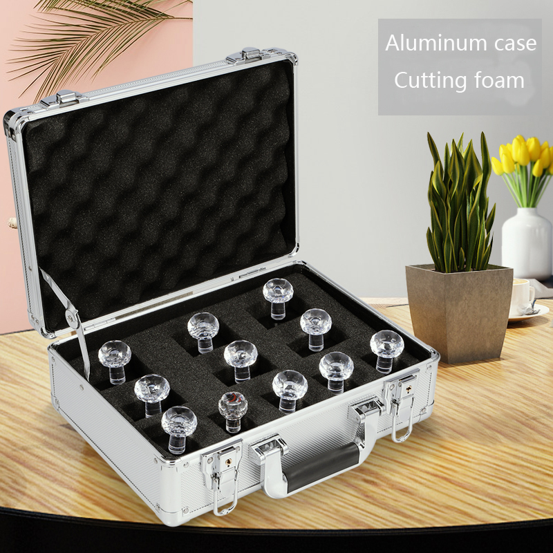 Waterproof Protective Durable Aluminium Flight Carry Case Bronze Camera Tool Briefcase Travel Camera Storage Box With Foam