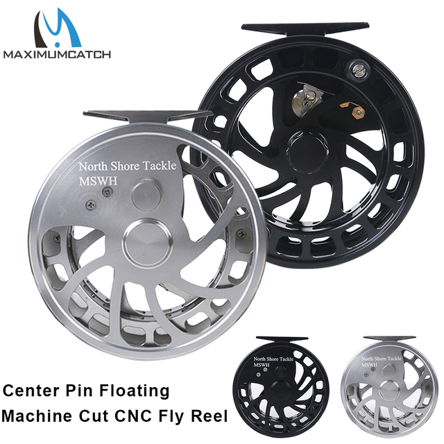 Special Offers Maximumcatch Center Pin Floating Fishing Reel Aluminum 6061-T6 Floating Reel