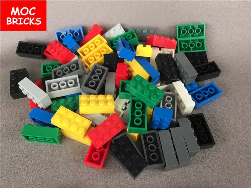 Light gray 1 x Lego 3001  Brick 2 x 4