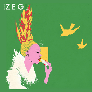 Image 5 - ZEGL female earrings gold earrings wheat ear burst models long earrings pendant earrings European and American niche rural style