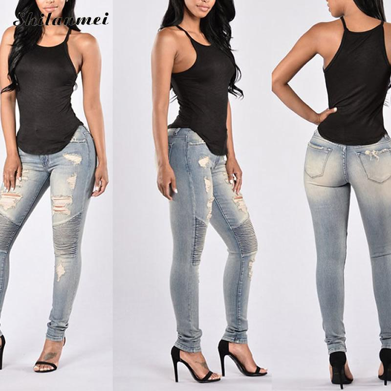 Popular Womens Long Jeans-Buy Cheap Womens Long Jeans lots from ...