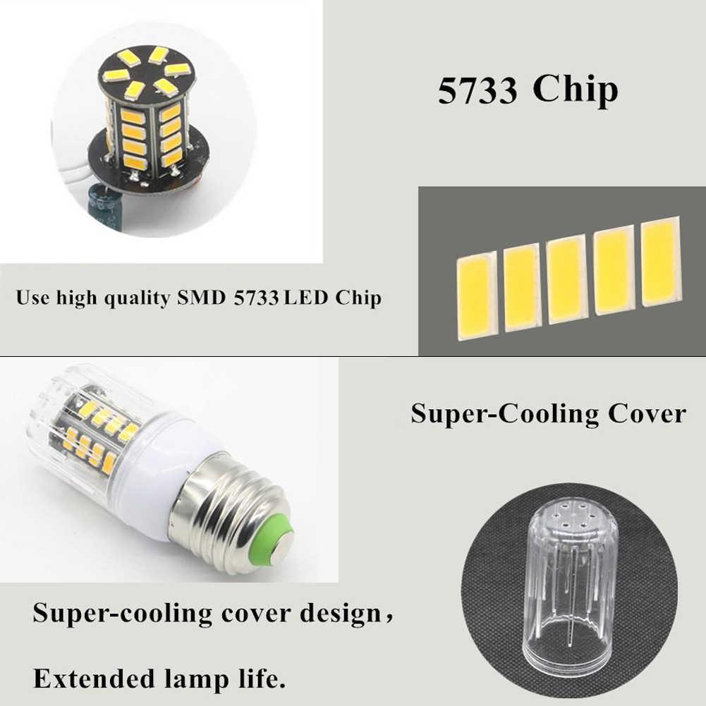 TSLEEN высокое люмен светодио дный лампа E27 E14 B22 G9 GU10 7 Вт 9 Вт 12 Вт 15 Вт 20 Вт 25 Вт SMD 5733 Кукуруза лампа 220 В люстра светодио дный s прожектор
