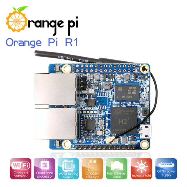 US $13 9 |Orange Pi R1 : H2+ 256MB Quad Core Cortex A7 Open source  development board beyond Raspberry Pi -in Demo Board from Computer & Office  on