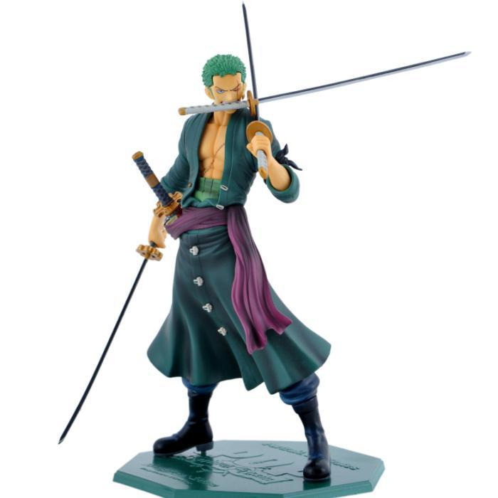 Free Shipping Cool 9.5 One Piece P.O.P POP Roronoa Zoro After 2 Years PVC Action Figure Collection Model Toy new hot 17cm one piece 15th roronoa zoro action figure toys doll collection christmas toy with box